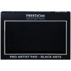 Freedom Pro Artist Pad Black Arts paletka očných tieňov so zrkadielkom