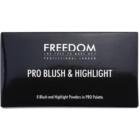 Freedom Pro Blush Bronze and Baked paleta pentru contur facial