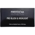 Freedom Pro Blush Bronze and Baked paleta za konture obraza