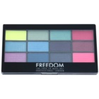 Freedom Pro 12 Chasing Rainbows палітра тіней з аплікатором