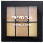 Freedom Pro Conceal paleta korektorjev