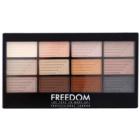 Freedom Pro 12 Le Fabuleux paleta očních stínů s aplikátorem