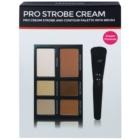Freedom Pro Cream Strobe палетка для контурування зі щіточкою