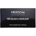 Freedom Pro Blush Peach and Baked paleta za konture obraza