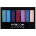 Freedom Pro Shade & Brighten Play paleta očných tieňov s rozjasňovačom