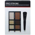 Freedom Pro Powder Strobe palette contour de visage avec pinceau