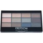 Freedom Pro 12 Romance and Jewels paletka očných tieňov s aplikátorom