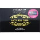 Freedom Pro Decadence Rock & Roll Queen paleta očních stínů s aplikátorem