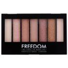 Freedom Pro Shade & Brighten Stunning Rose Eyeshadow Palette with Highlighter
