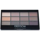 Freedom Pro 12 Secret Rose paleta farduri de ochi cu aplicator