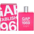 Gap Gap Established 1969 Bright eau de toilette pour femme 100 ml