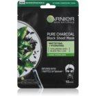Garnier Skin Naturals Pure Charcoal  černá textilní maska s extraktem z černého čaje