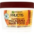 Garnier Fructis Macadamia Hair Food розгладжуюча маска для неслухняного волосся
