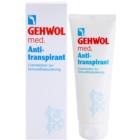 Gehwol Med creme antitranspirante para redução do suor para pernas