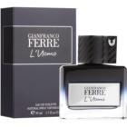 Gianfranco Ferré L´Uomo eau de toilette para hombre 50 ml