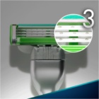 Gillette Mach 3 Sensitive lames de rechange 4 pièces
