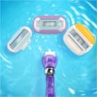 Gillette Venus Swirl máquina de barbear + refil de lâminas 1 pçs