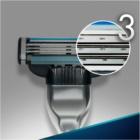 Gillette Mach 3 brivnik + nadomestne britvice 3 kos