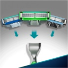 Gillette Mach 3 Sensitive Shaver + Spare Blades 3 pcs
