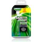 Gillette Mach 3 Sensitive Rasierer Ersatzklingen 3 pc