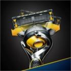 Gillette Fusion Proshield máquina de barbear + refil de lâminas 4 pçs