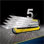 Gillette Fusion Proshield brivnik + nadomestne britvice 4 kos