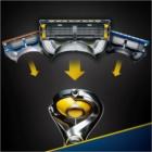 Gillette Fusion Proshield maszynka do golenia zapasowe ostrza 4 szt.