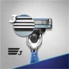 Gillette Mach 3 Start holiaci strojček + náhradné hlavice 3 ks