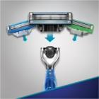 Gillette Mach 3 Start Razor + Replacement Heads 3 pcs