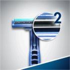 Gillette Blue II Plus jednorazové žiletky