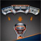 Gillette Fusion Power maszynka do golenia na baterie zapasowe ostrza 1 szt.