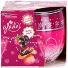 Glade Blackberry Scented Candle 120 g
