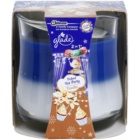 Glade Velvet Tea Party and Vanilla 2 in 1 bougie parfumée 135 g