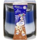 Glade Velvet Tea Party and Vanilla 2 in 1 lumânare parfumată  135 g