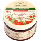 Green Pharmacy Face Care Cranberry Nourishing Cream with Anti-Aging Effect
