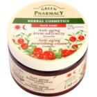Green Pharmacy Face Care Cranberry výživný krém proti starnutiu pleti