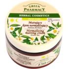 Green Pharmacy Face Care Green Tea crème matifiante pour peaux grasses et mixtes