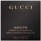 Gucci Eye Magnetic Color Shadow Duo Duo Eye Shadow