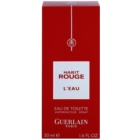 Guerlain Habit Rouge L'Eau Eau de Toilette voor Mannen 50 ml