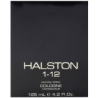 Halston 1-12 acqua di Colonia per uomo 125 ml