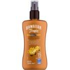 Hawaiian Tropic Golden Tint Schützende Körpermilch als Spray LSF 15