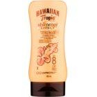 Hawaiian Tropic Shimmer Effect loțiune pentru plaja  SPF 8