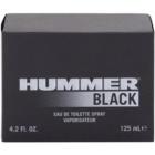 Hummer Black Eau de Toilette voor Mannen 125 ml