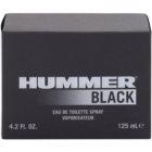 Hummer Black toaletná voda pre mužov 125 ml