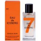 Iceberg Eau de Iceberg Sensual Musk toaletní voda pro ženy 100 ml