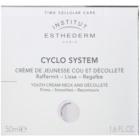 Institut Esthederm Cyclo System verjüngende Creme für Hals und Dekolleté
