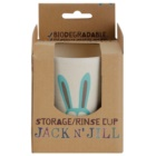 Jack N' Jill Bunny tasse de bambou et de balles de riz