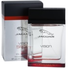 jaguar vision sport eau de toilette para homens 100 ml. Black Bedroom Furniture Sets. Home Design Ideas