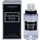 Jeanne Arthes Colonial Club Eau de Toilette voor Mannen 100 ml