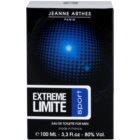 Jeanne Arthes Extreme Limite Sport eau de toilette pentru barbati 100 ml